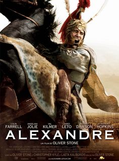 Alexander , starring Colin Farrell, Anthony Hopkins, Rosario Dawson, Angelina Jolie. Alexander, the King of Macedonia and one of the greatest military leaders in the history of warfare, conquers much of the known world. #Action #Adventure #Biography #Drama #History #Romance #War