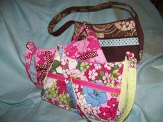 Small Chic Zip Handbag pdf pattern with Tutorial   Craftsy