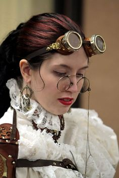 Steampunk Librarian