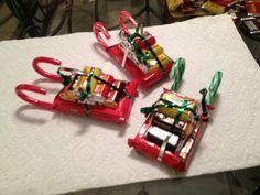 candy Christmas sleigh