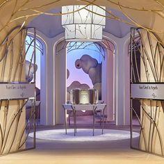 Van Cleef & Arpels   Contract Furniture   Retail Interior Design #retailinteriordesign #contract #moderninteriordesign Find more at:https://www.brabbu.com/en/projects/