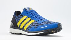 Since Adidas is the official sponsor of the marathon, it's the only shoe that carries the logo of the Boston Athletics Association — the mythical unicorn! The special-edition Adizero Adios 3 ($160) will be available in two colorways and available for purchase exclusively at the Adidas RunBase store in Boston and the Boston Marathon expo.