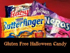 list of gluten free halloween candy