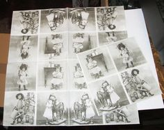 1 new German Victorian black & white Victorian by TheWisdomTree