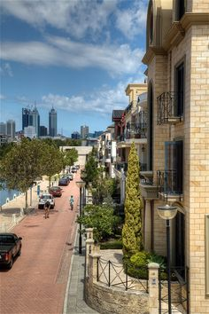 Wa Gov, Present Day, Capital City, Western Australia, Perth, Townhouse, Mansions, House Styles, Terraced House
