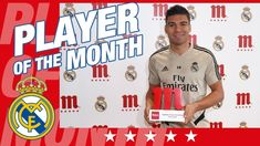 Real Madrid midfielder Casemiro has been named January's Mahou Five Star Player thanks to his superb performances for the team in the first month of 🎥 . Real Madrid Club, Five Star, How To Become, January, Stars