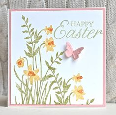 Stampin' Up ideas and supplies from Vicky at Crafting Clare's Paper Moments: Easter blossoms, fruit and flowers