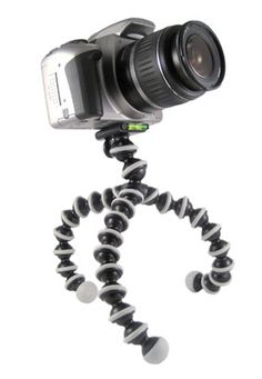 gorillapod - a bendable camera tripod to give you the best shot every time, even on uneven surfaces!