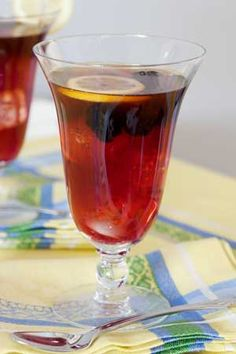 Iced Blackberry Ceylon Tea, make your own BB Syrup