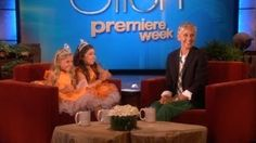 Video: Sophia Grace & Rosie on Ellen.  These are the cutest little girls ever.