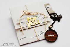 Lovely gift packaging by Franzi Manko