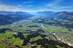 Vale Inntal, no Tirol, Áustria