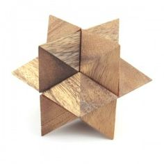 Wooden Puzzles : Wooden Puzzles - Star Puzzle