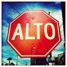 Stop Sign in San Jose Del Cabo, Baja California Sur, Mexico - #wanderhive