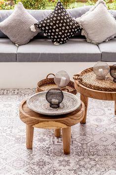 Villa JOJU- THE PERFECT FAMILY VILLA | Bali Interiors Interior Room Decoration, Home Decor, Interior Design, Small Fish Pond, Bali, Fireplace Garden, Shelf Furniture, Tv In Bedroom, Small Backyard Pools