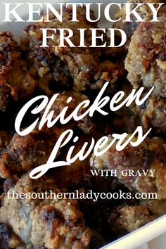 Kentucky fried chicken is a tradition in the bluegrass state. This is my recipe for kentucky fried chicken livers with gravy. Recipe For Kentucky Fried Chicken, Chicken Liver Recipes, Chicken Liver Pate, Turkey Recipes, Famous Recipe Fried Chicken, Game Recipes, Keto Chicken, Copycat Recipes, Fried Chicken Livers