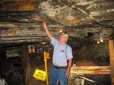Inside Beckley Coal Mine