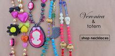 Veronica & Totem necklaces #tarinatarantino