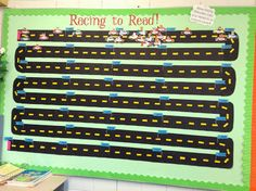 Pope's Peeps: Incentive to Read! each blue flag represents a book instead? Reading Tracker, Reading Goals, Reading Challenge, Ar Reading, Word Challenge, Accelerated Reader Display, Reading Contest, Reading Display, Read A Thon