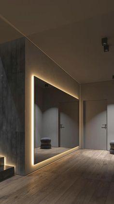 Gym Design, Design Case, House Design, Design Ideas, Fitness Design, Loft Design, Wall Design, Modern Design, Design Inspiration