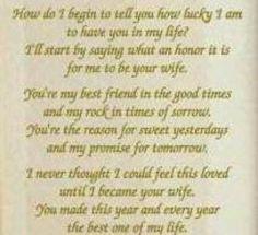 Poem for my husband <3
