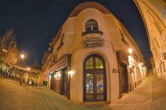 Baia Mare Noaptea,Baia Mare by Night,Judetul Maramures County,Romania,Europe Close To Home, Photo Blog, Tudor, Europe, Mansions, Night, House Styles, Manor Houses, Villas