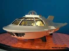 """Mark MyersSCIENCE FICTION MODELERS SOCIETY 1/48 Proteus from """"Fantastic Voyage"""" Build up."""