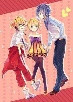 Len, Rin and Kaito | Vocaloid