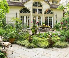 beautiful patio
