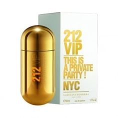 Carolina Herrera 212 VIP Eau De Parfum 50ml Spray. Available now at www.beautybase.com