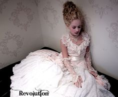 Marie Antoinette-Inspired Photoshoot by Hollianne Ames.  ModernSalon.com