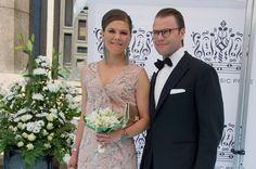 Crown Princess Victoria of Sweden and Prince Daniel attend Polar Music Prize at Stockholm Concert Hall on June 9, 2015 in Stockholm, Sweden.