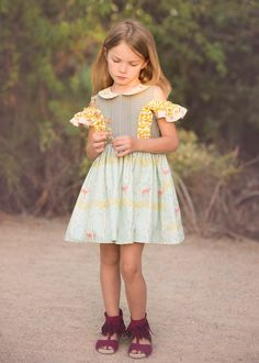 The Chloe Dress and Romper Sewing Pattern by Honeydew Kisses