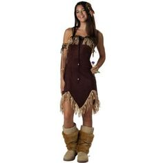 California Costumes Women's Indian Princess Costume.  $17.29 - $55.05            Costume includes: dress, hair ornament, armband, boot covers