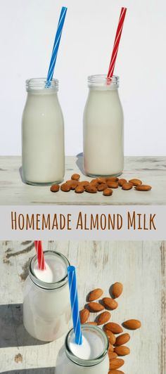If you are on a dairy free diet then you are most likely familiar with the joy that is almond milk, but if you are not… well in that case let me introduce you to almond milk…