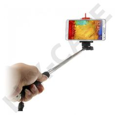 Selfie (Pink) Forlænger Stang/Holder Til Smartphones - Nokia 130 Holdere & Stativer - Nokia 130 - Nokia - GRATIS FRAKT!