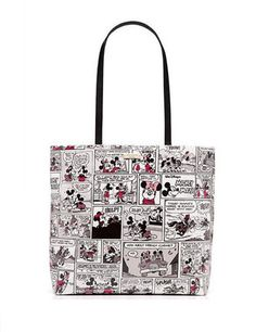 fcb199b3d25 Kate Spade New York Minnie Mouse Comic Tote
