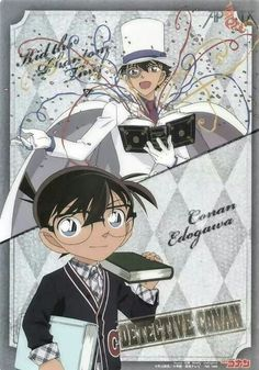 Detective Conan :,Kaito Kid and Conan Edogawa