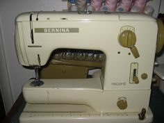 Sew Old - Sew New: Making Button Holes with the Bernina 730