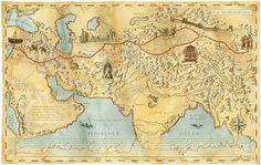 """In 1877 the term """"Seidenstraße"""" (Die Seidenstrassen, literally """"Silk Road"""") was coined by the German geographer, and explorer Ferdinand von Richthofen"""