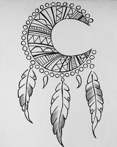 Easy Mandala Drawing, Simple Mandala, Mandala Art Lesson, Doodle Art Drawing, Art Drawings Sketches, Easy Drawings, Mandala Sketch, Tumblr Tattoo, Videos Kawaii
