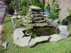 fuentes de agua para jardines - Buscar con Google