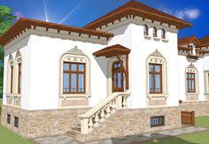casa ciprian Building Images, Dream House Plans, Design Case, Minimalist Decor, Beautiful Bedrooms, Traditional House, Modern Bedroom, Exterior Design, Interior Decorating
