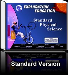 homeschool science curriculum and courses and kits - Exploration Education Homeschool Science Curriculum, Teaching Science, Homeschooling, Science Movies, Newtons Third Law, Physical Science, Fun Learning, Physics, Education