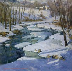 """Spring Thaw"" by Donald Allen Mosher"