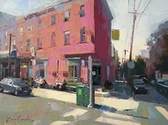 Philly by Louis Escobedo Oil ~ 9 x 12