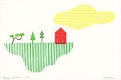 Julien Billaudeau / BLOG: Paysages Aléatoires ... suite Julien, Art Education, Printmaking, Crafts For Kids, Blog, Illustration, Landscapes, Drawing Drawing, Notebooks