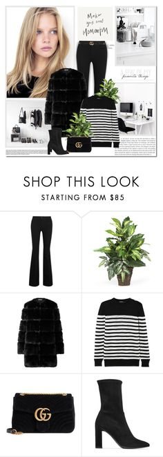 """""""Make your own momentum!!"""" by lilly-2711 ❤ liked on Polyvore featuring STELLA McCARTNEY, Givenchy, Balmain, Gucci and Stuart Weitzman"""