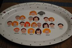 Darling personalized grandparent platter... perfect gift for Mother's Day...hint..hint...