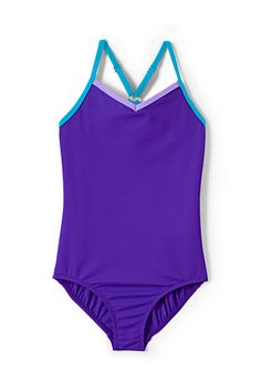 Girls' Smart Swim Strappy Swimsuit